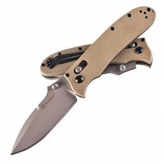 Нож Ganzo G704, песочный(желтый)