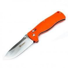 Нож Ganzo G720, оранжевый + мультитул в подарок!