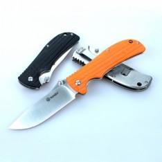 Нож Ganzo G723M, черный, зеленый, оранжевый