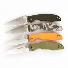 Нож Ganzo G732, (черный, зеленый, оранжевый, камуфляж)