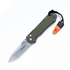 Нож Ganzo G7452-WS, зеленый