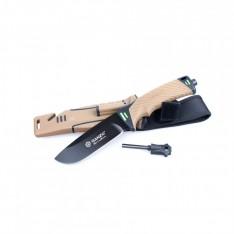 Нож Ganzo G8012, коричневый