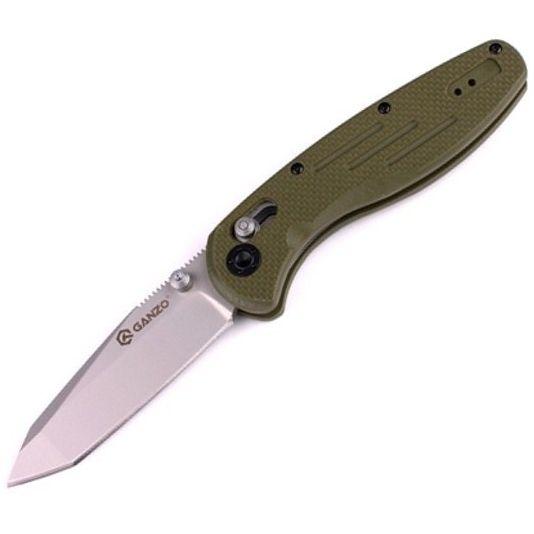 Нож Ganzo G701-G зеленый G10