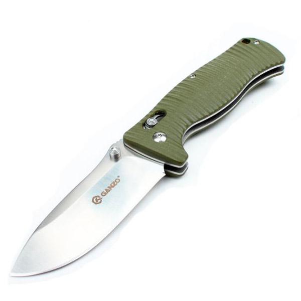 Нож Ganzo G720, зеленый + мультитул в подарок!