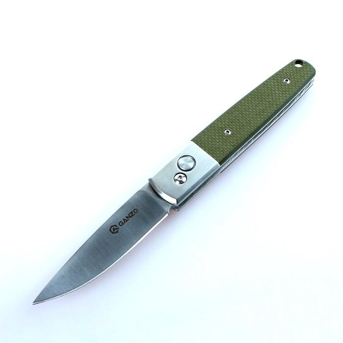 Нож Firebird F7211-GR by Ganzo G7211-GR, зеленый