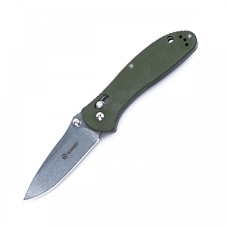 Нож Ganzo G7392 зеленый