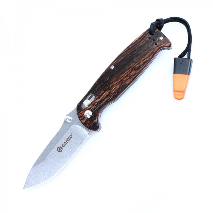 Нож Ganzo G7412-WD1-WS, дерево
