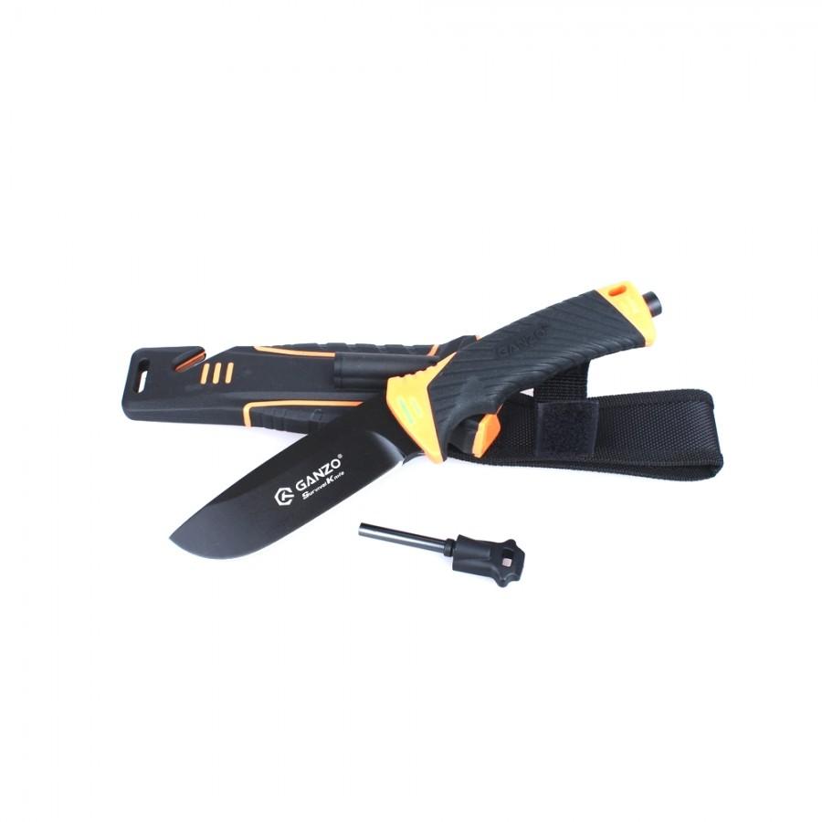 Нож Ganzo G8012, оранжевый